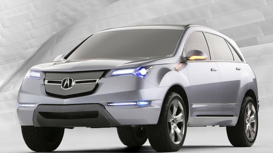 Acura MDX Concept 2005 acura_mdx_concept_silver_metallic_jeep_front_view_style_auto_13510_1600x900