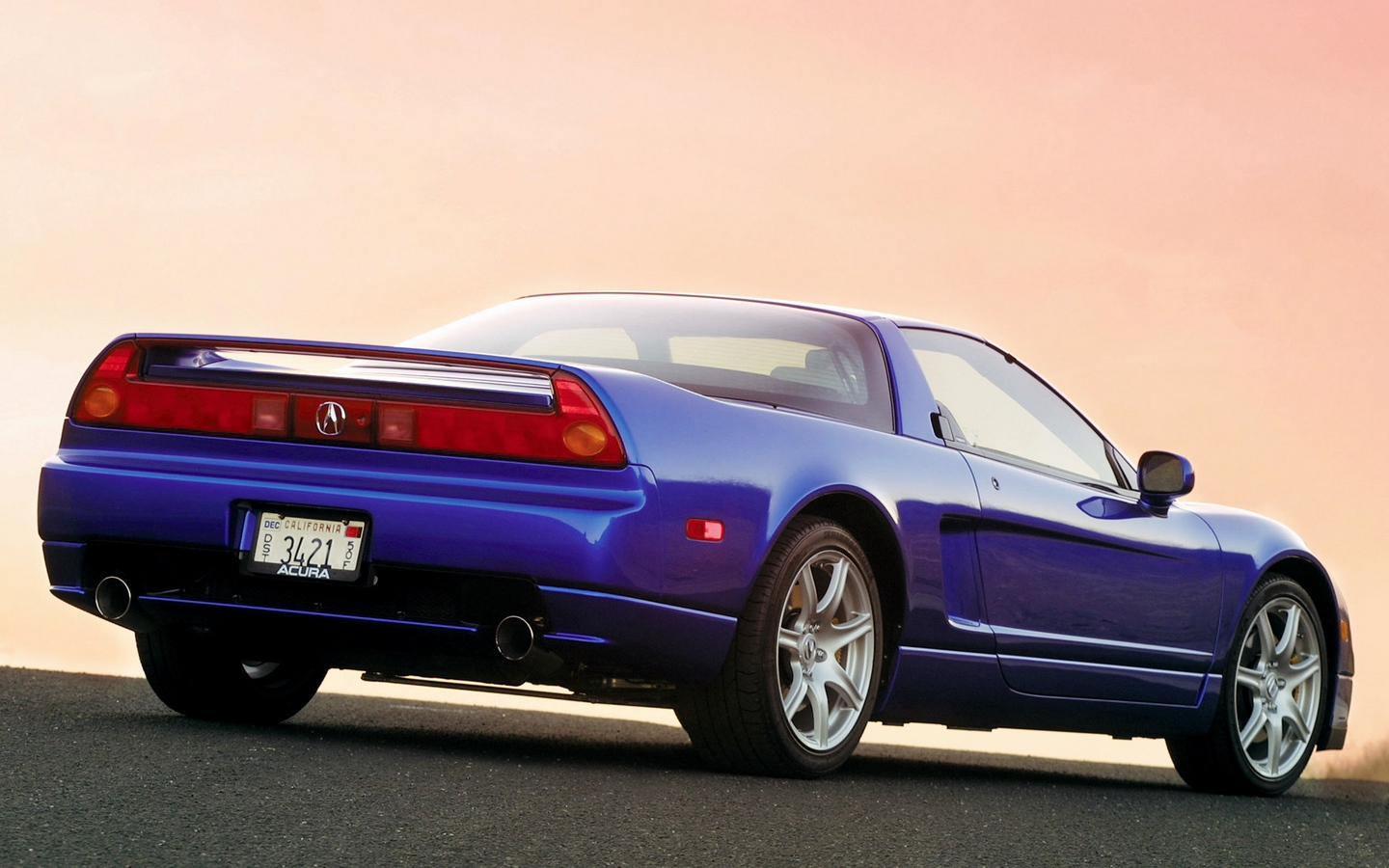 Acura NSX Mugen 2003 acura_nsx_blue_rear_view_style_sports_cars_sunset_13666_1440x900