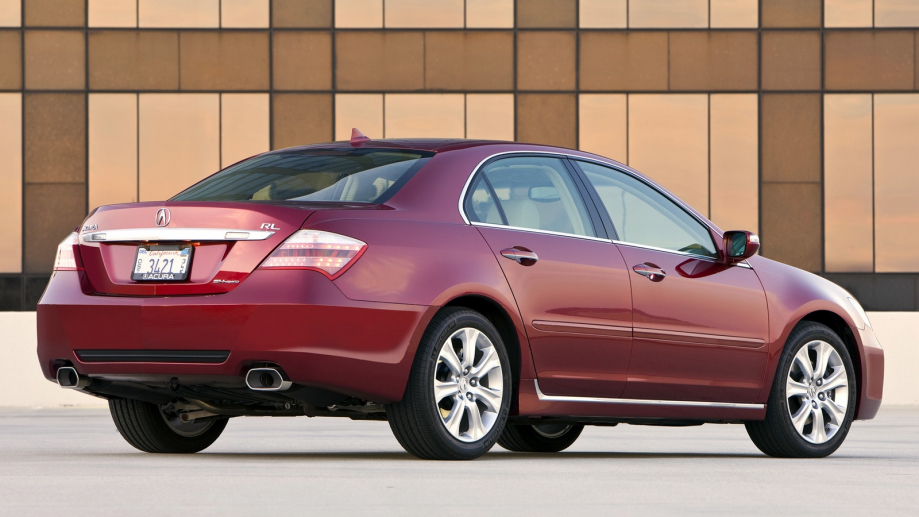 Acura RL 2006 acura_rl_red_rear_view_auto_style_building_16934_1600x900