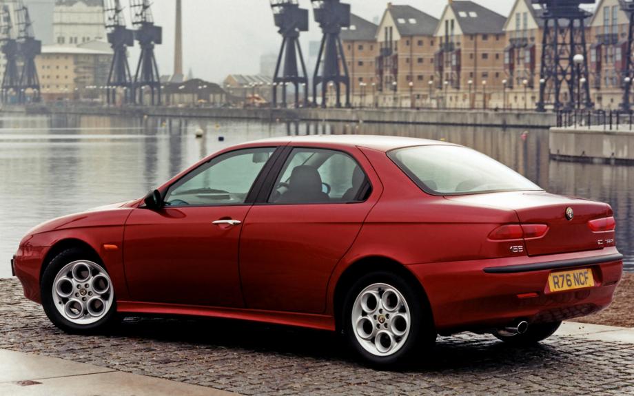 Alfa Romeo 156 UK 1997 carpixel