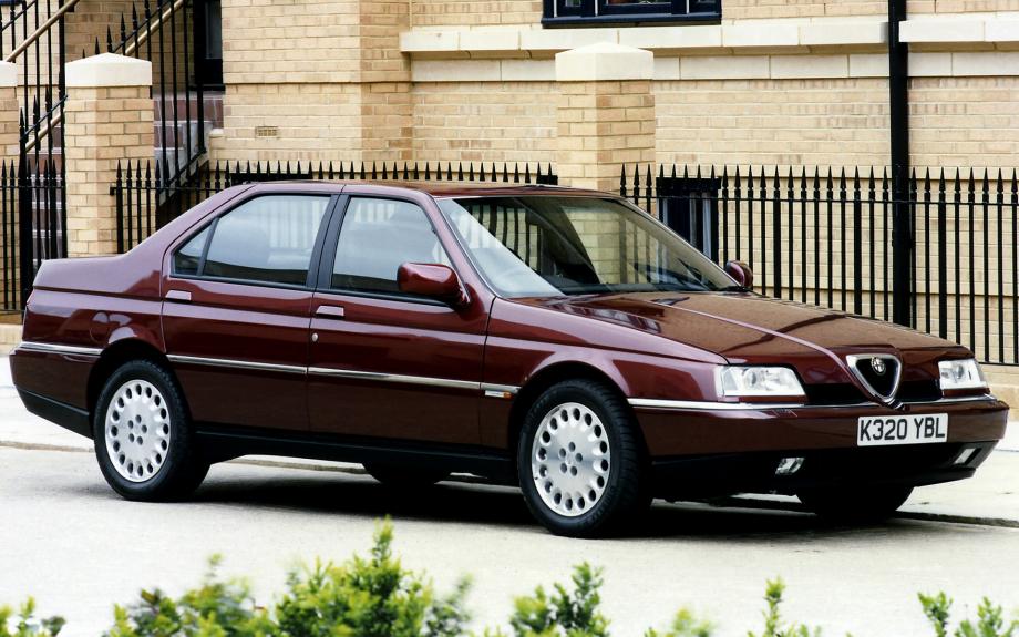 Alfa Romeo 164 Super UK 1992 carpixel