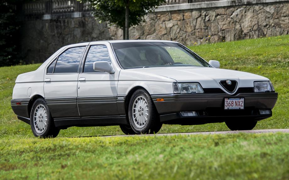 Alfa Romeo 164 UK 1991 carpixel