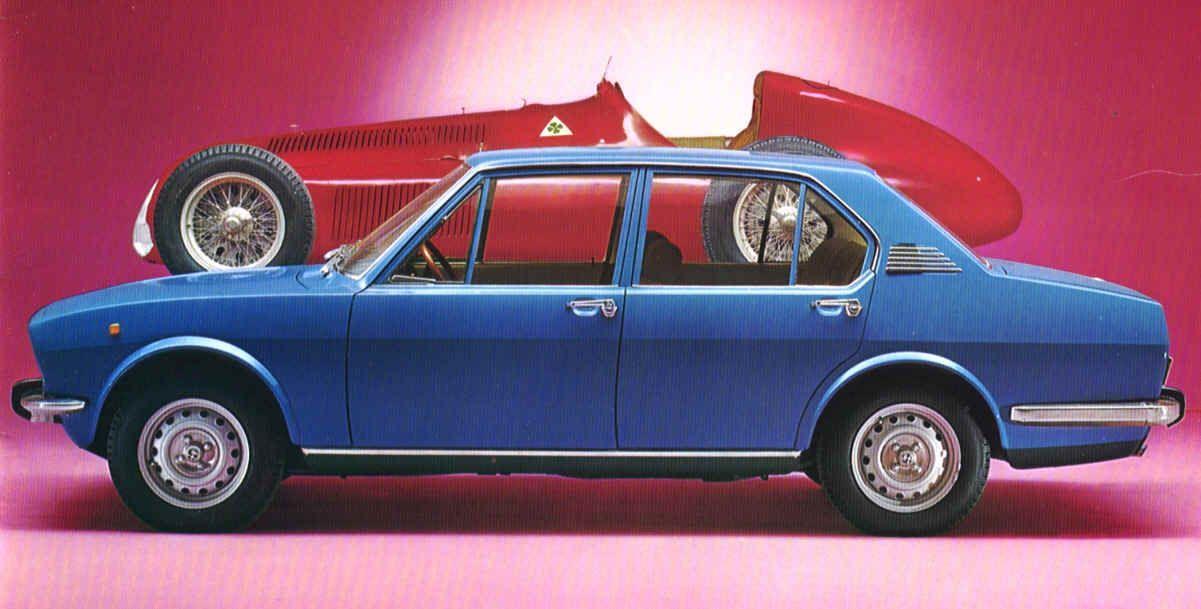 Alfa Romeo Alfetta 1800 1975 pinterst com 239c1d6152127b44975b98552a461584