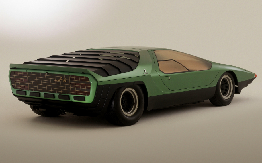 Alfa Romeo Carabo Bertone Concept 1968 carpixel