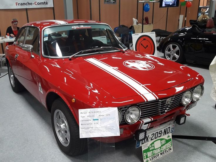 Alfa Romeo Giulia GT 1975 pinterest com  040d517868e25253ba29208cc6ab107e--alfa-giulia-