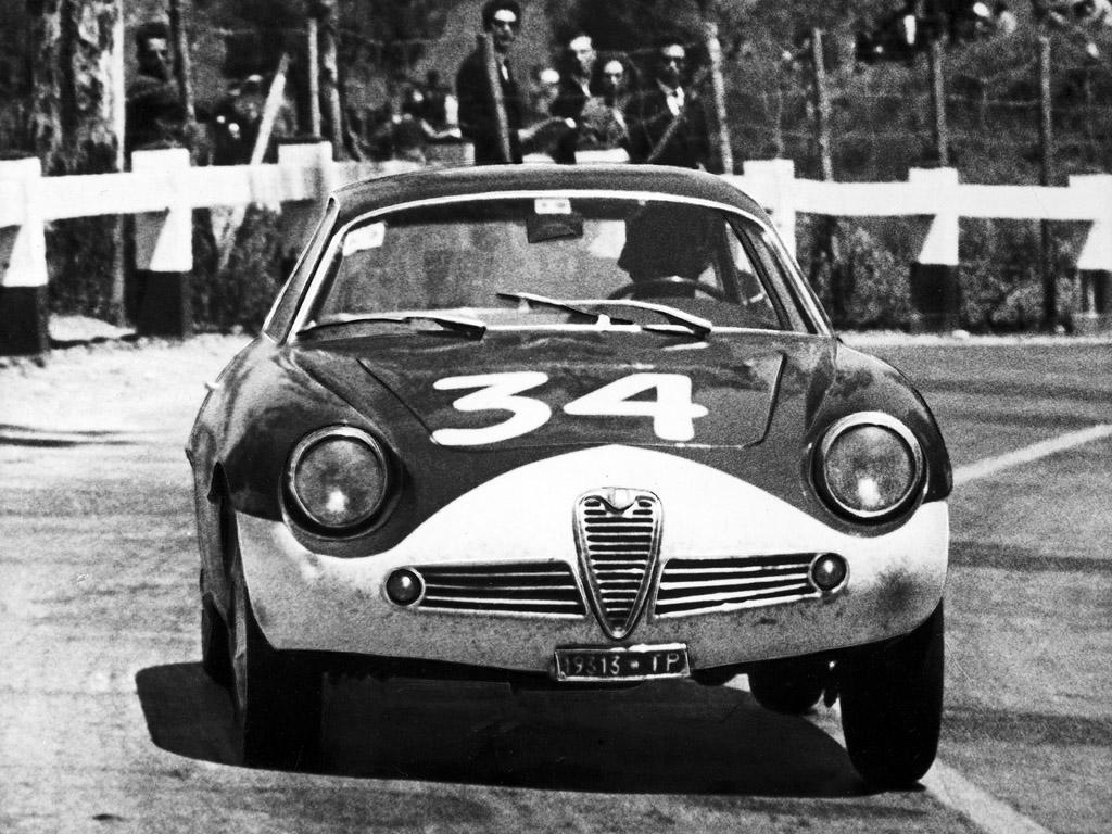 Alfa Romeo Giulietta Sprint Zagato 1961 coachbuild com R