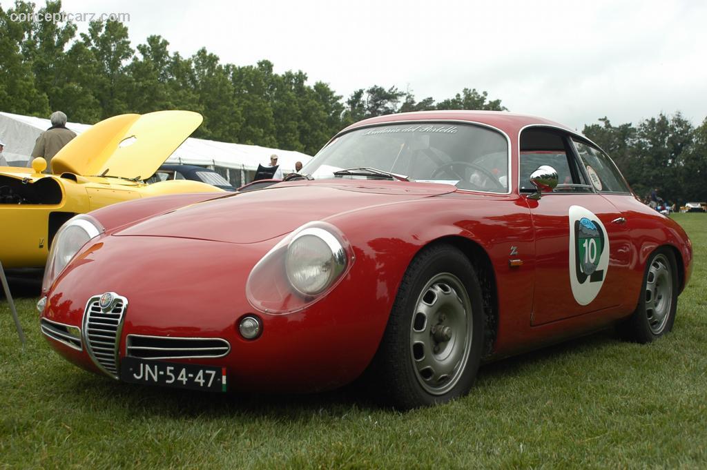 Alfa Romeo Giulietta Sprint Zagato 1961 conceptcarz com 61_alfa_romeo_giulietta_SZ_CC_KM_01