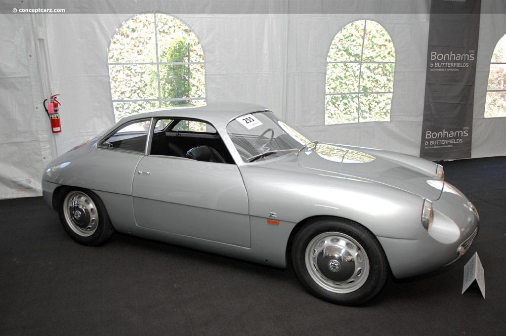Alfa Romeo Giulietta Sprint Zagato 1961 conceptcaz com  R