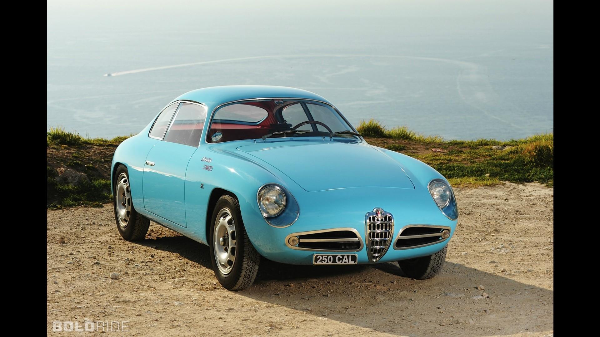 Alfa Romeo Giulietta Sprint Zagato 1961 motor1 com alfa-romeo-giulietta-sprint-veloce-zagato
