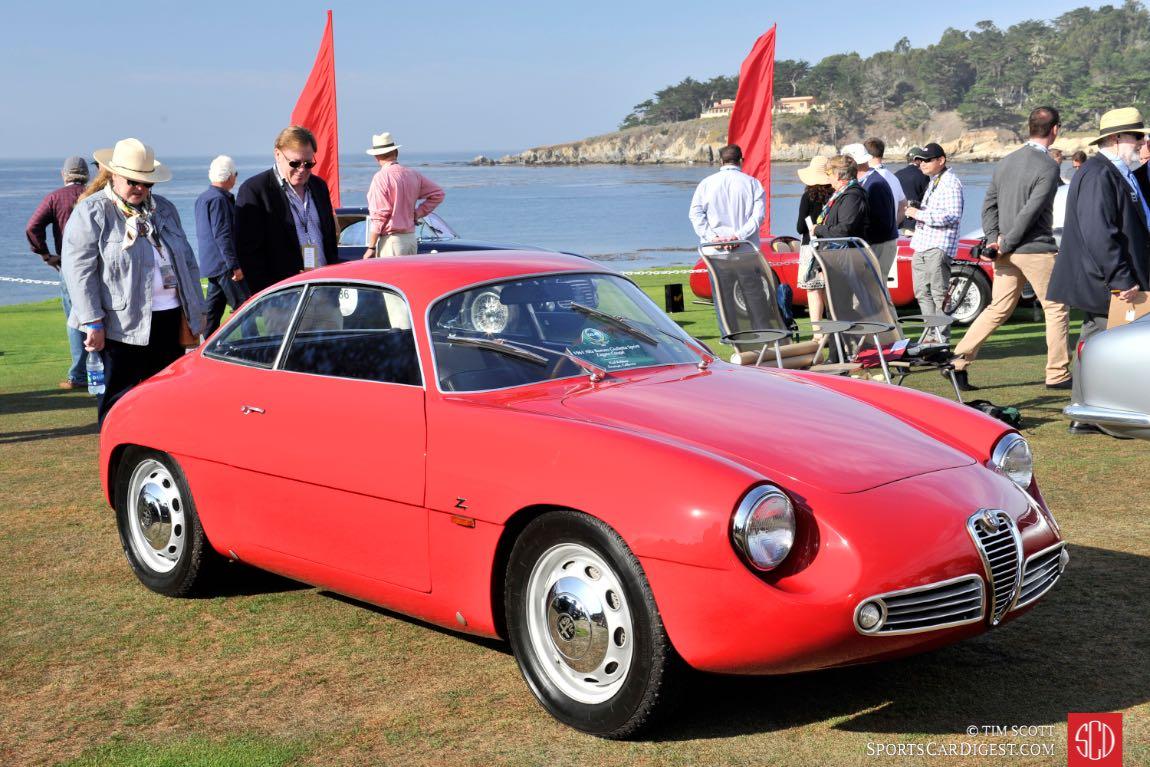 Alfa Romeo Giulietta Sprint Zagato 1961 sportscardigest com DSC4010