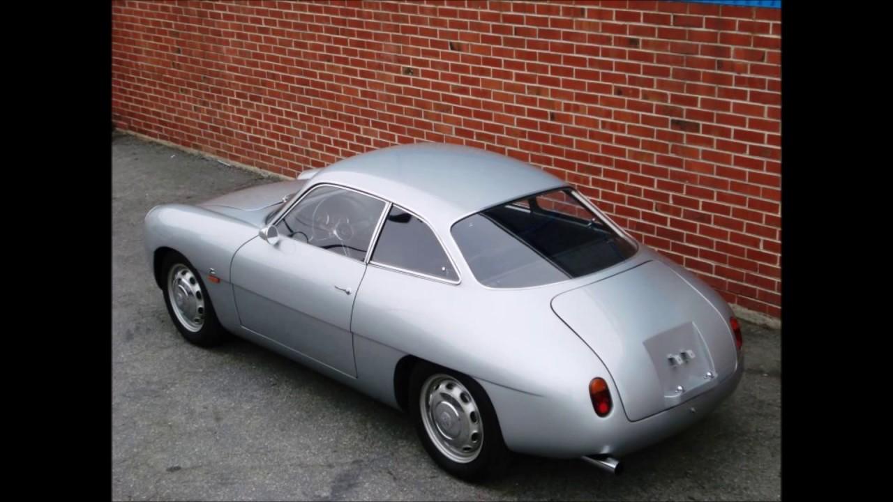 Alfa Romeo Giulietta Sprint Zagato 1961  youtube com maxresdefault