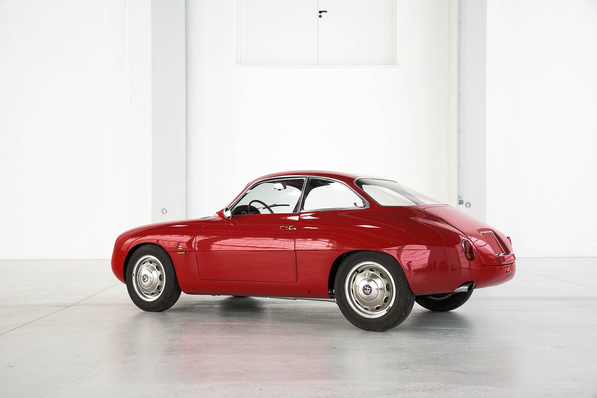 Alfa Romeo Giulietta Sprint Zagato 1963 dorotheum com 6