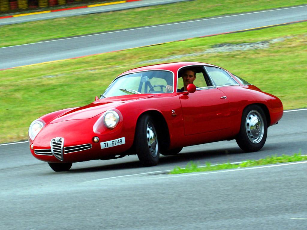 Alfa Romeo Giulietta Sprint Zagato Coda Tronca 1962 carinpicture com 2