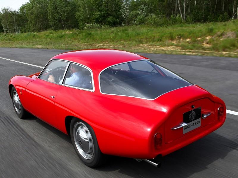 Alfa Romeo Giulietta Sprint Zagato Coda Tronca 1962 carinpicture com R