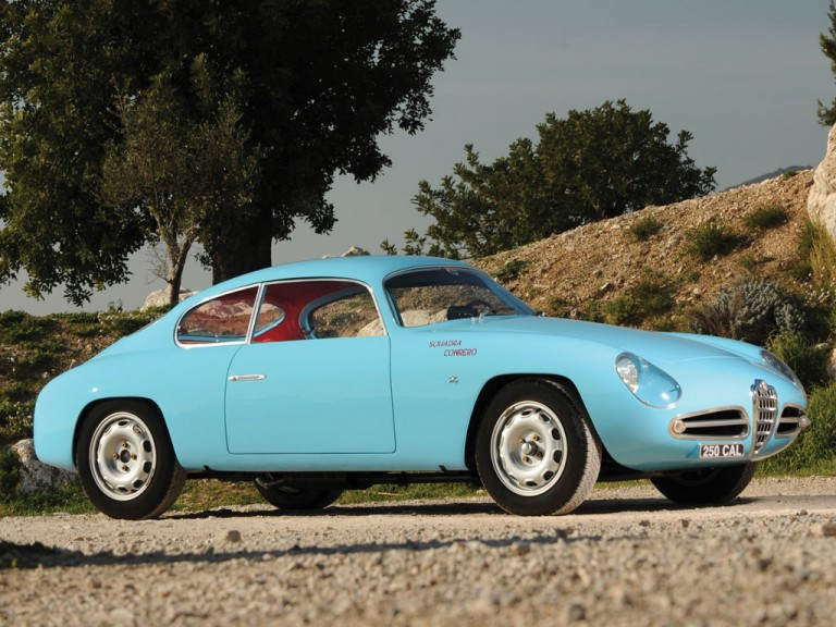 Alfa Romeo Giulietta SVZ 1958 ruotevecchiedb