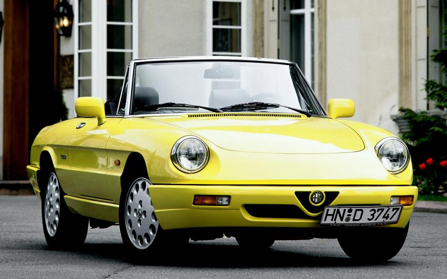 Alfa Romeo Spider 1990 carpixel