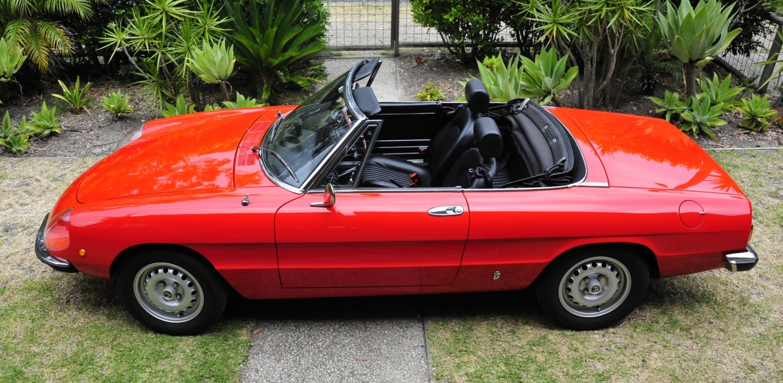 Alfa Romeo Spider 2000 1975 shannons com au 1975-alfa-romeo-spider-2000 s