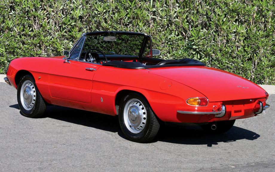 Alfa Romeo Spider Duetto 1600 1966 carpixel