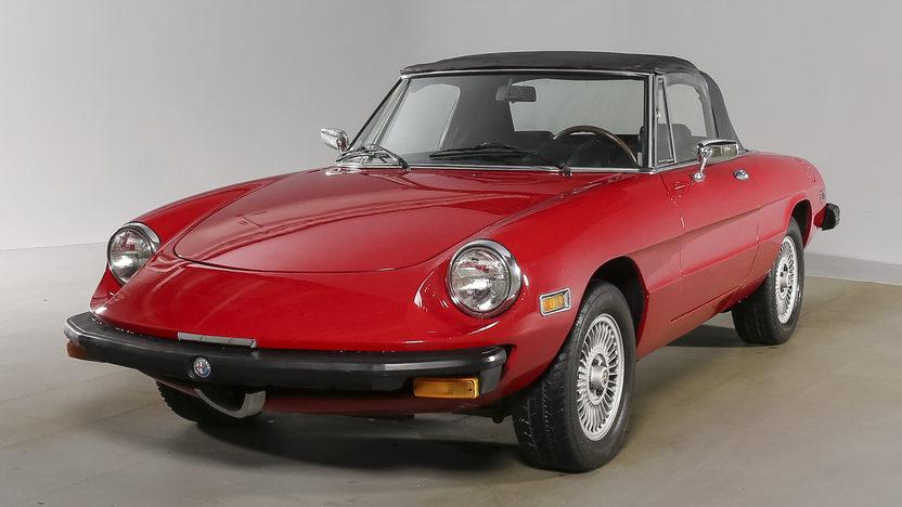 Alfa Romeo Spider Iniezione 1975 mecumauctions ha0416-241627_1