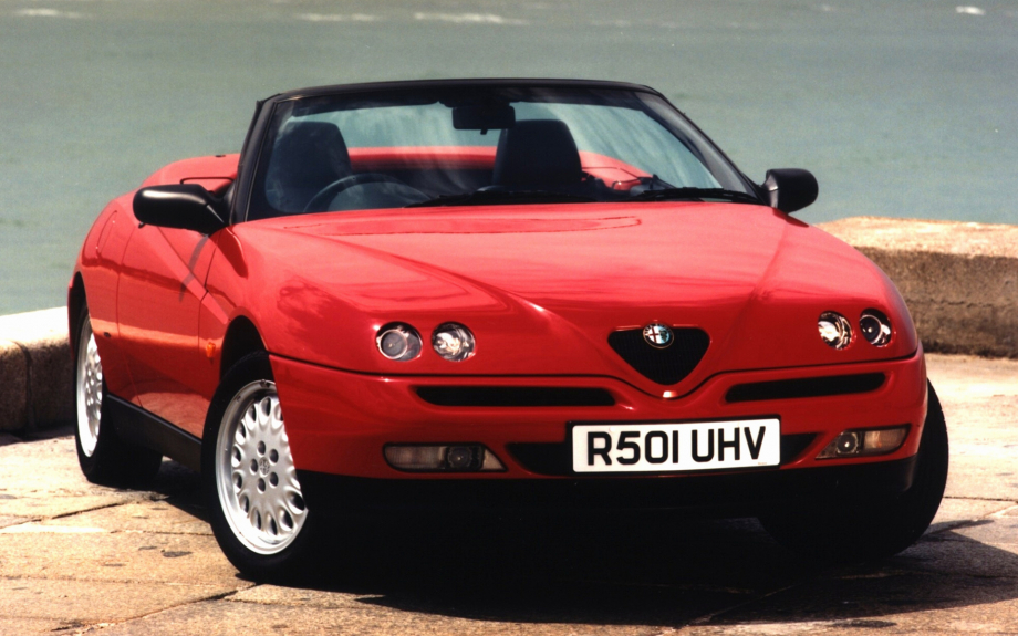 Alfa Romeo Spider T-Spark 16V UK 1995 carpixel