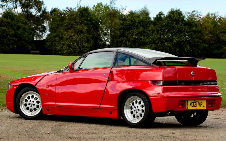 Alfa Romeo SZ 1989 carpixel