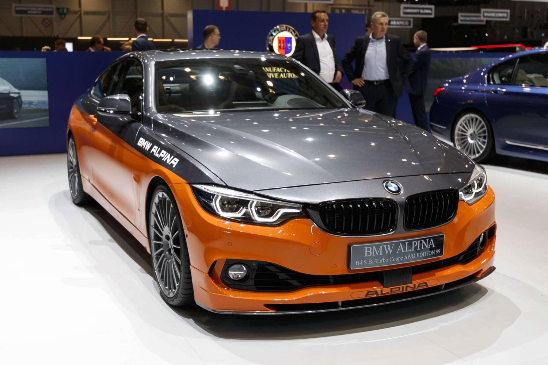 Alpina BMW B4S Bi-Turbo Coupé AWS Edition 99 2019 shutterstock com احدث-السيارات-سيارات-حديثه-5