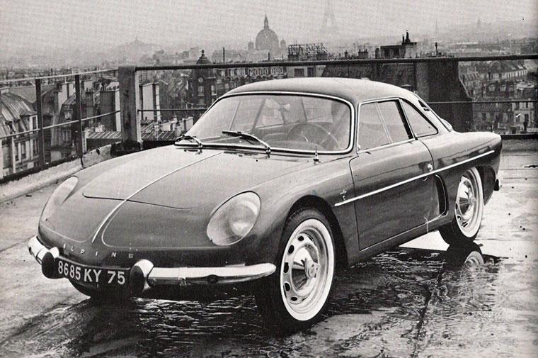 Alpine A108 1958 automobile-sportive com  alpine-a108-berlinette