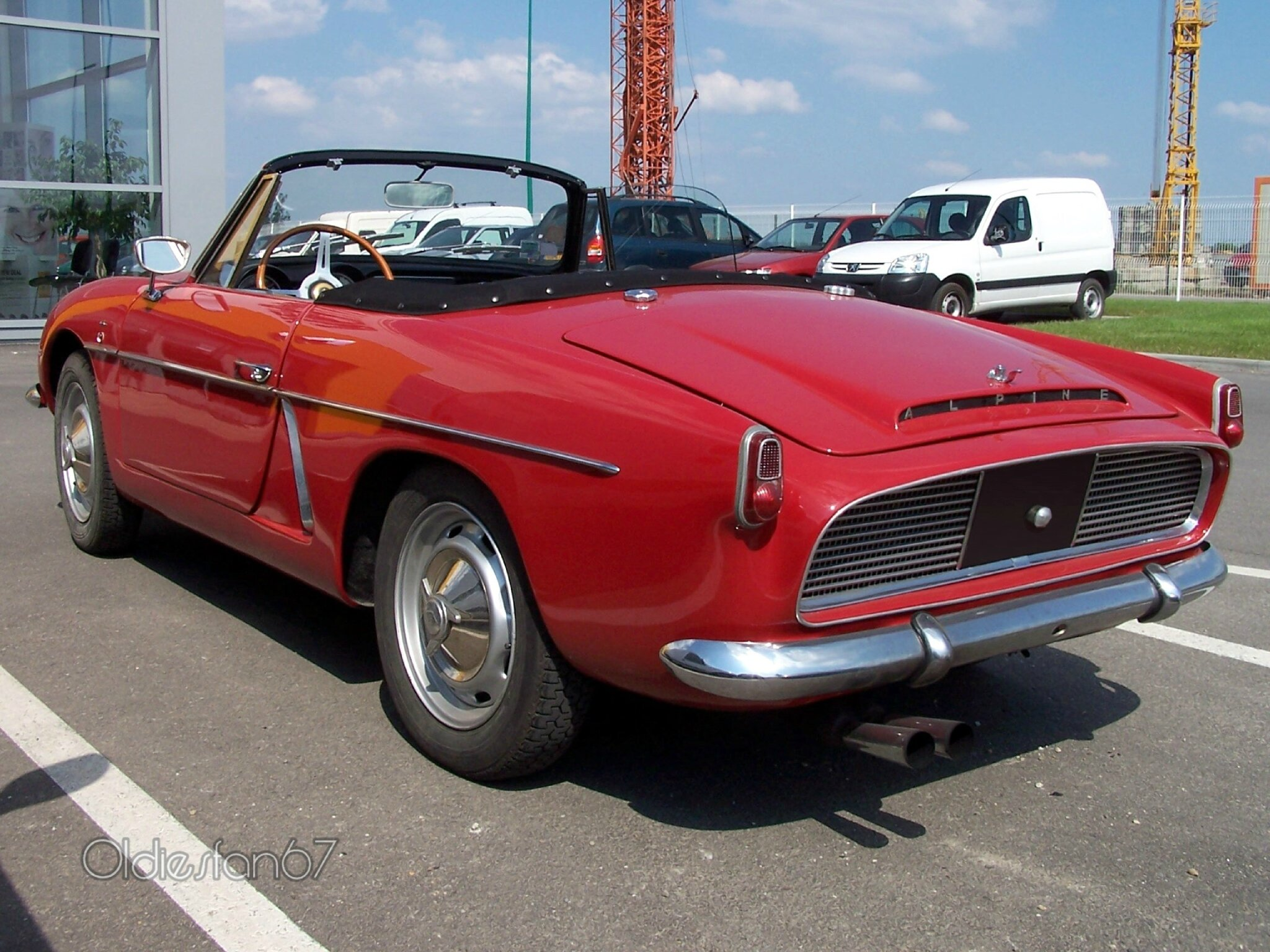 Alpine A108 Cabriolet Sport 1961 oldiesfan67
