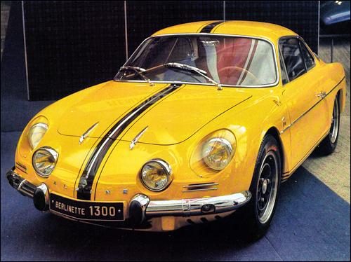 Alpine A110 1300 1966 classicarcatalogue com alpine 1966 a110-1300