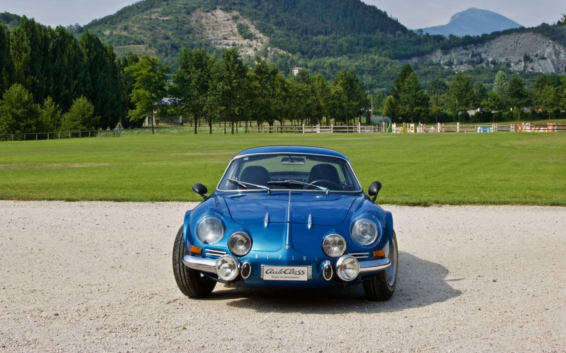 Alpine A110 1300 G 1969 braveragazze-pinterst