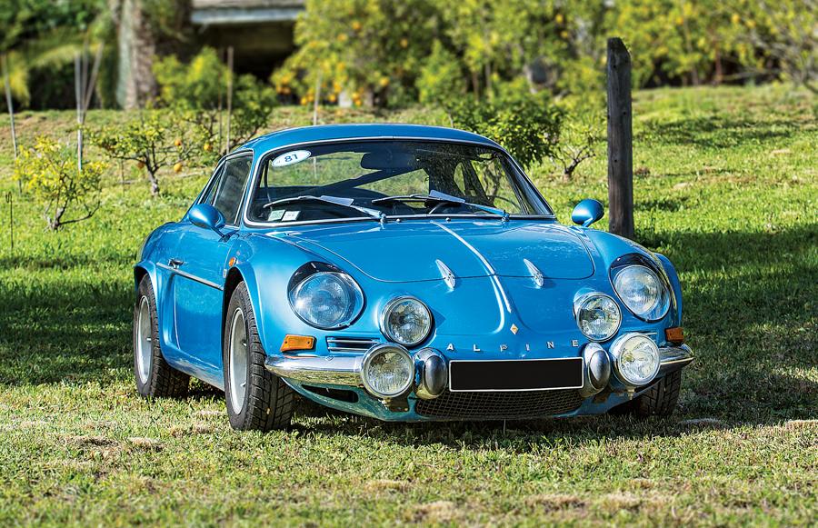 Alpine A110 1600S 1971 sportscarmarket com 1971-alpine-a110-1600s-coupe-pass-front