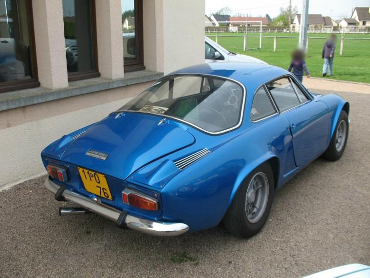 Alpine A110 1966 zorgblogauto
