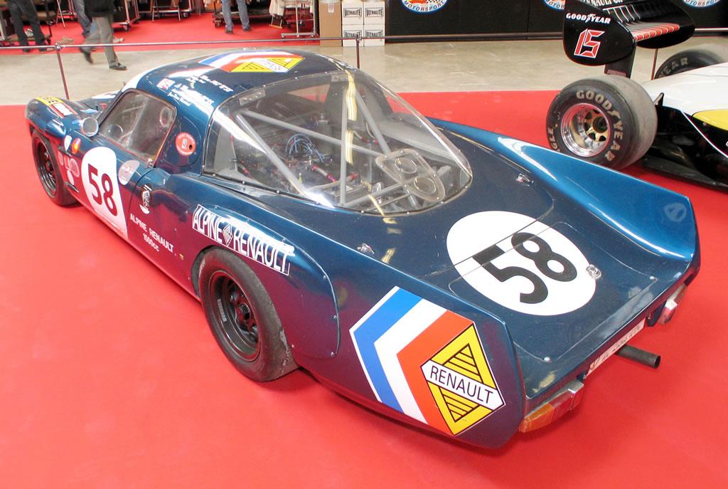 Alpine A110 GT4 Le Mans 1965 gtdreams com AMF2009_0044