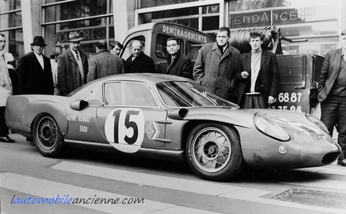 Alpine A211 V8 Gordini Le Mans 1967 lauatomobileancienne
