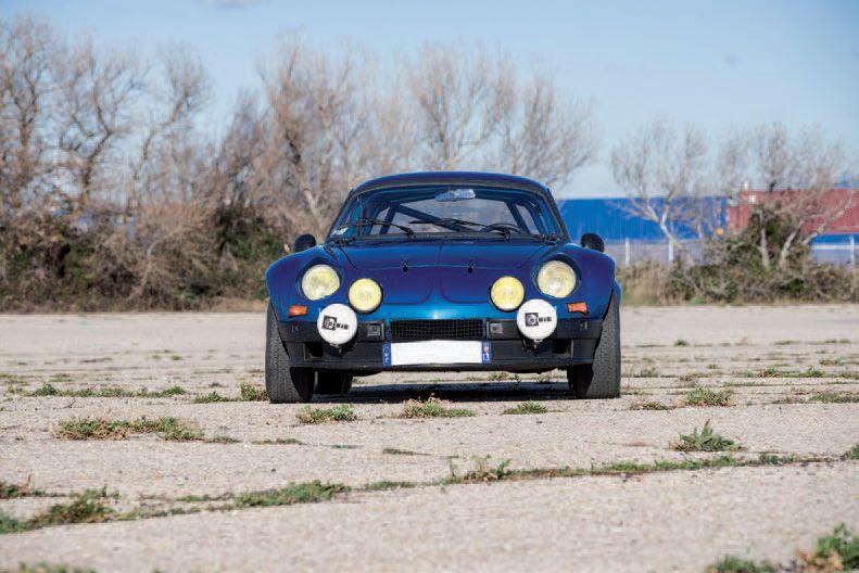 Alpine Renault A110 1600S tuning gr4 1970 drouot com lot