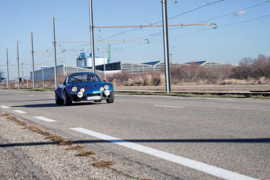 Alpine Renault A110 1600S tuning gr4 1970 drout com 5lot
