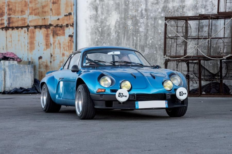Alpine Renault A110 1600S tuning Gr