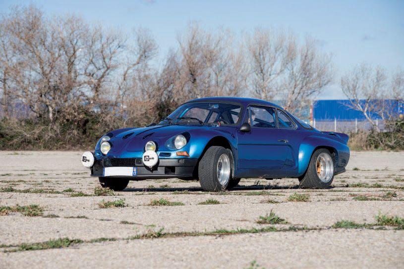 Alpine Renault A110 1600S tunning Gr4 1970 drouot com 6lot