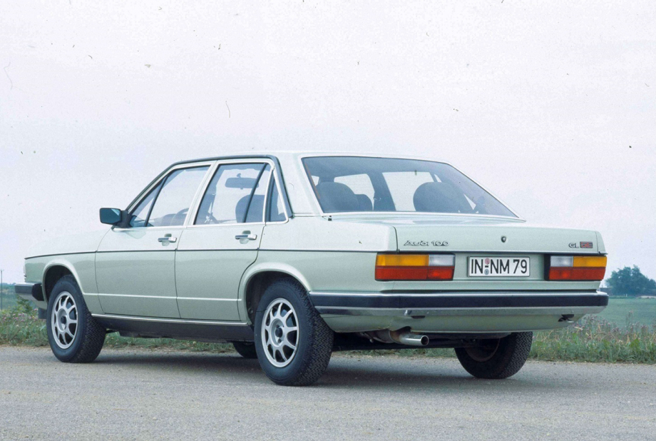 Audi 100 1980 data