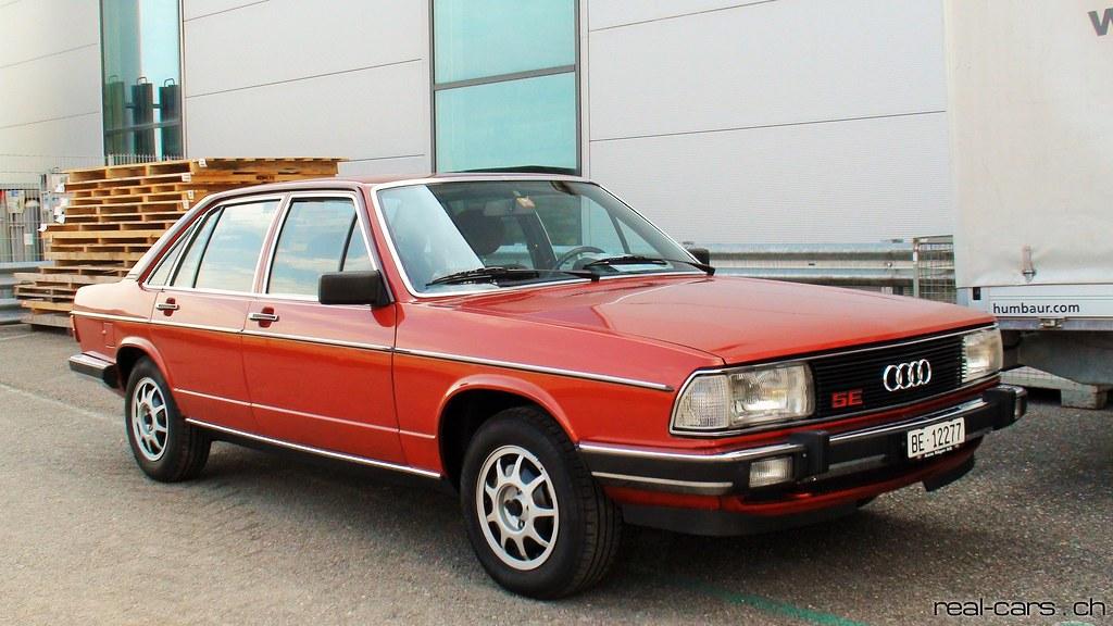 Audi 100 5E 1979 live
