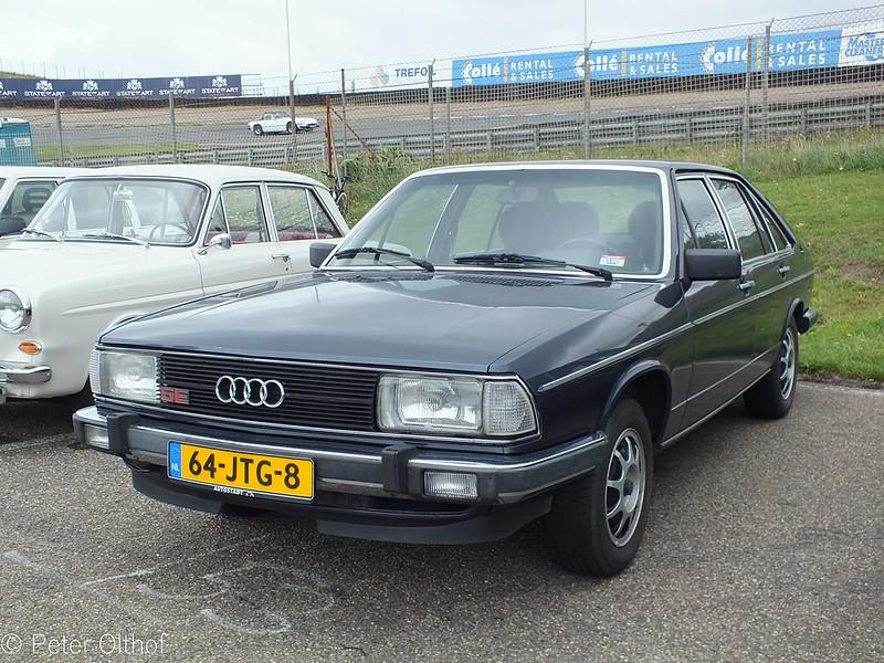 Audi 100 Avant 5E 1980 bilddata