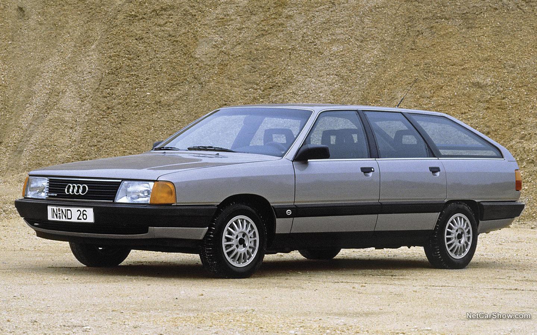 Audi 100 Avant Quattro 1984 b1ddab45