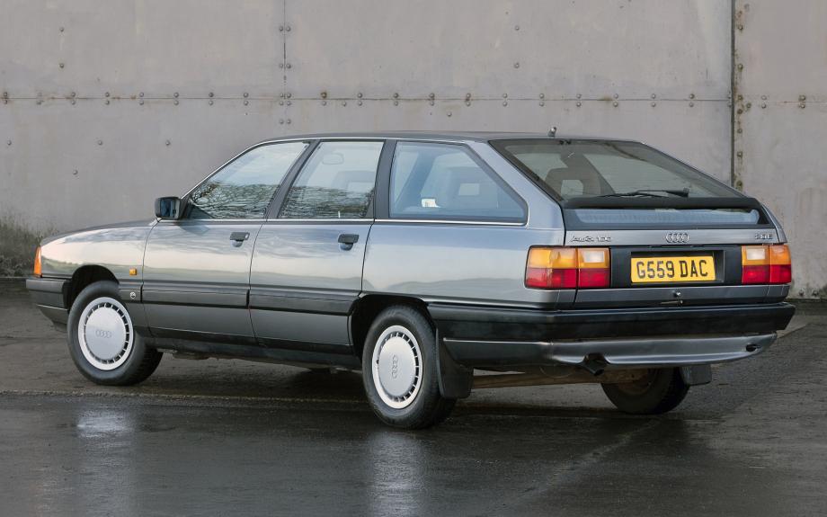 Audi 100 Avant UK 1988 carpixel