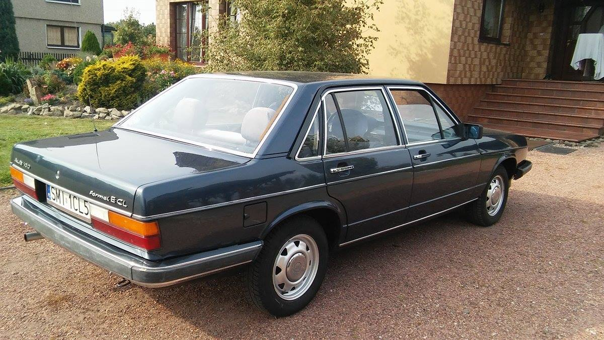 Audi 100 CL 1981 gieldaklasykow pl  audi-100-02