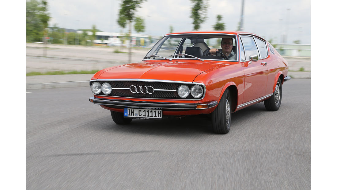 Audi 100 coupe s 1973 auto-motor-und-sport