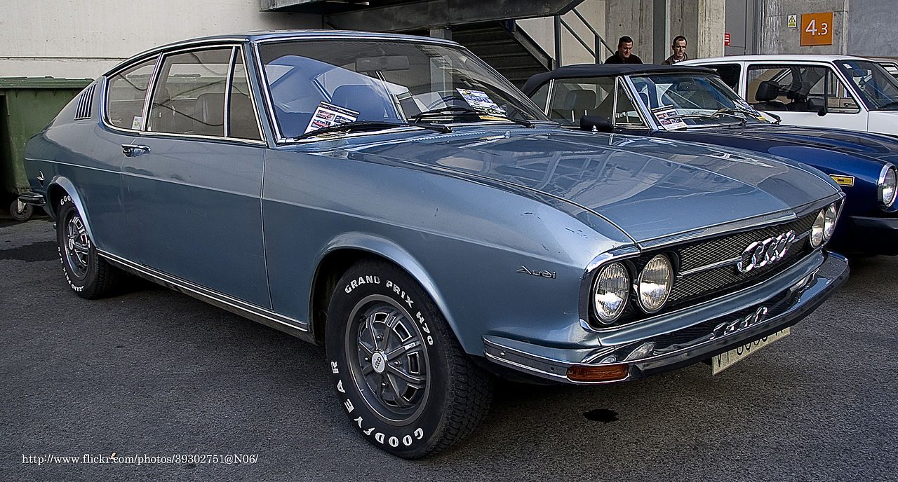 Audi 100 coupe s 1973 commons