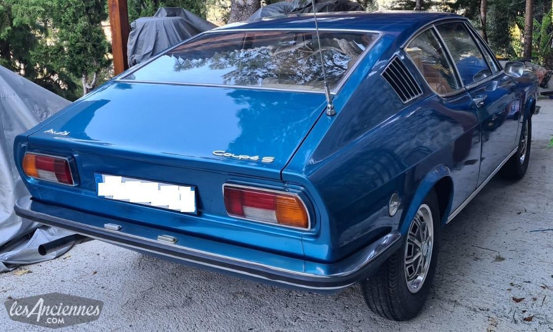 Audi 100 coupe s 1973 lesanciennes com ad7923fd31feb4e4c7d47dad4272988f