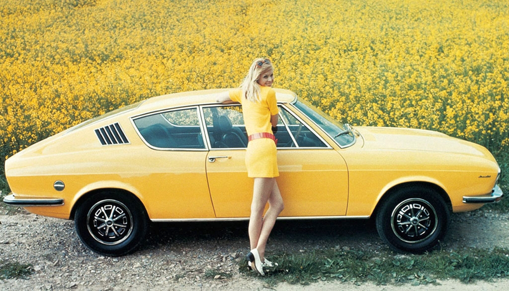 Audi 100 Coupe S 1975 4