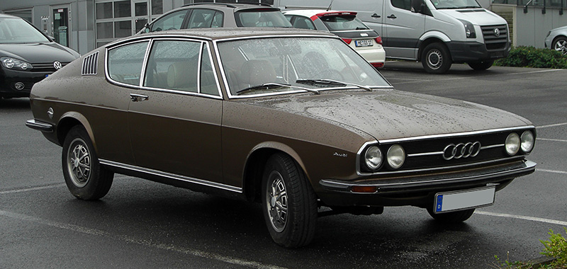 Audi 100 Coupe S 1975 nwac