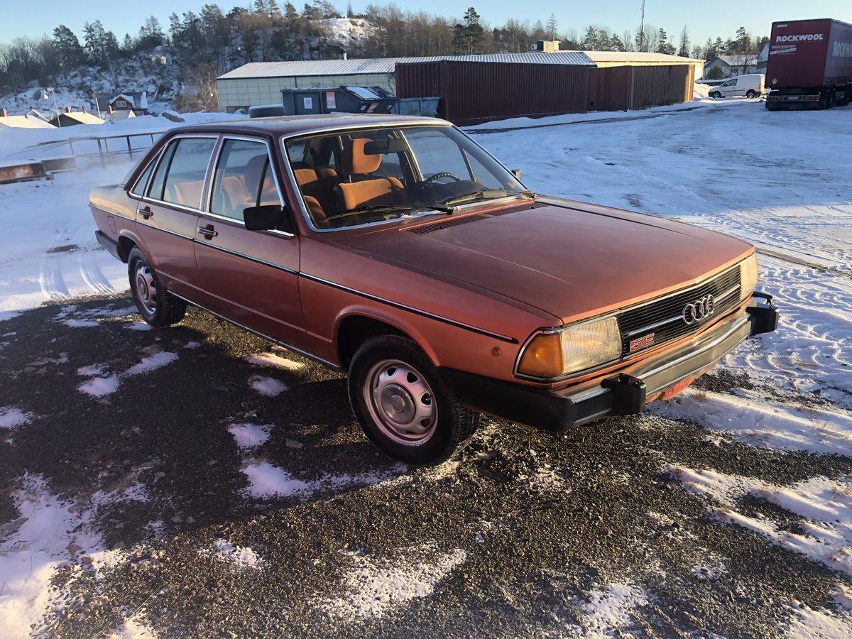 Audi 100 GL 5E 1977 uploads